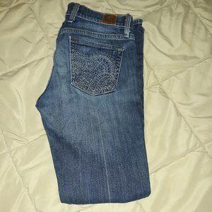 Lucky Brand Gene Montesano Blue Jeans Size 4/27